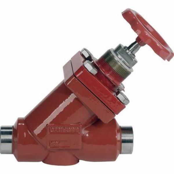 Danfoss Shut-off valves 148B4610 STC 50 A ANG  SHUT-OFF VALVE CAP #1 image
